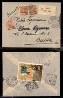 A17-231-A08-503 COLONIE - ERITREA - Gemelli - 20 Cent (23) + 15 Cent Su 20 (30) - Raccomandata Da Ghinda A Brescia Del 2 - Stamps