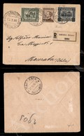 A17-233-A08-505 COLONIE - ERITREA - 5 Cent (34) + 40 Cent (38) + 20 Cent Su 15 (46) - Raccomandata Da Asmara A Macerata  - Stamps