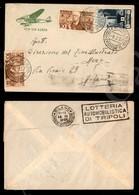A17-237-A08-516 COLONIE - ERITREA - Due 10 Cent (1) + 1 Lira (209 Eritrea) - Aerogramma Della P.M.210 Emissione B A Mila - Stamps