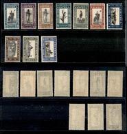 A17-333-A13-0609 COLONIE - ERITREA - 1930 - Soggetti Vari (155/164) -  Serie Completa - Gomma Integra (550) - Stamps