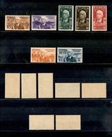 A17-334-A13-0619 COLONIE - ETIOPIA - 1936 - Re E Vedute (1/7) - Serie Completa - Gomma Integra (400) - Stamps