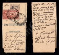 A17-245-A08-563 COLONIE - LIBIA - Tripoli - 25 Cent Espressi (1) Su Cedola Assicurata Del 2.12.20 - Stamps