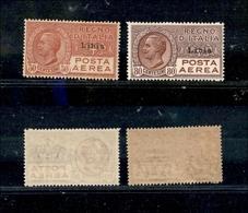 A17-337-A13-0679 COLONIE - LIBIA - 1928 - Posta Aerea (1/2) - Serie Completa - Gomma Integra (300) - Stamps