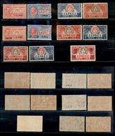 A17-338-A13-0683 COLONIE - LIBIA - 1915 - Espressi (1/10+17) - 11 Valori - Gomma Integra (645) - Stamps