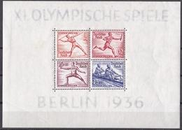Go_ Deutsches Reich -  Mi.Nr. Block 6  - Ungebraucht MNH - Bloques