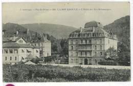 CPA 63 LA BOURBOULE L'HOTEL DES ILES BRITANNIQUES - La Bourboule