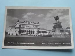 """SOFIA - La Place """" NARODNO SOBRANIE """" ( 26 ) Anno 19?? ( Zie Foto Details ) ! - Bulgarie"""