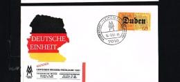 1991 - Germany Cover - Leipziger Messe Frühjahr 1991 [ED067] - Lettres