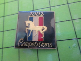 313i Pin's Pins / Beau Et Rare : Thème AUTOMOBILES / FORD MUSTANG 1992 COMPETITIONS - Ford