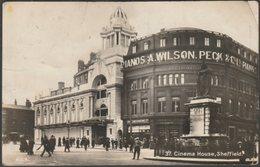 Cinema House, Sheffield, Yorkshire, 1926 - FCB RP Postcard - Sheffield