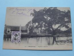 HAIPHONG - Pagode Et Banian ( R. Bonal ) Anno 1918 Indo Chine ( Tonkin ) ( Zie Foto Details ) ! - Viêt-Nam