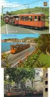 TRAM / Strassenbahn - Soller / Mallorca, 3 AK - Tramways
