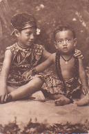 Océanie        H1        Missions Maristes D'Océanie.Types Océaniens : Bébés Samoans - Samoa