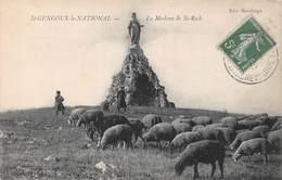 St Saint Gengoux Le National (71) - La Madone De St Roch - France
