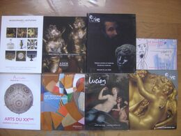 LOT 21 Catalogues De Vente Aux Encheres DESSINS TABLEAUX OBJETS D'ART MOBILIER - Other Collections