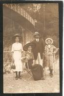 PHOTO NOUVELLE,33 Rue De La République - AVIGNON -- Carte Photo De La Famille ROUVIN - BEAUVOISIN - Photographie