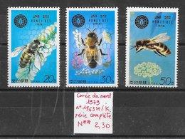 Insecte Abeille - Corée Du Nord N°1563H à 1563K 1979 ** - Bienen