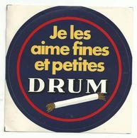 Sticker - Je Les Aime Fines Et Petites DRUM - Pegatinas