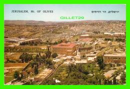 JÉRUSALEM, ISRAEL - MT. OF OLIVES -  BELLE VUE SUR LA VILLE - TRAVEL IN 1972 - - Israel