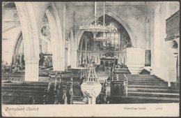 Portishead Church, Somerset, 1905 - Valentine's Postcard - England