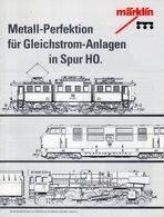 Catalogue Märklin 1992 Metall-Prefektion Für Gleichstrom-Anlagen In Spur HO - German