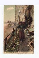 Dieppe. Grotte De Pêcheurs Dans La Falaise. (3022) - Pêche