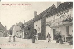 CHOREY. RUE DES CHOBINS. BOULANGERIE EPICERIE BOURRUD - Autres Communes