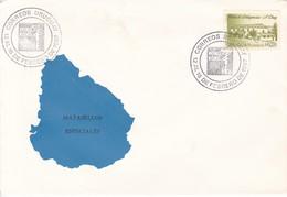 HONG KONG '97. CORREOS URUGUAY. POSTA DE DILIGENCIAS STAMP. OBLIT 1997.- BLEUP - Uruguay