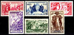 Africa-Equatoriale-Fr.-0002 - Emissione 1937 (sg/+) NG/LH - Senza Difetti Occulti. - A.E.F. (1936-1958)