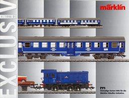 Catalogue Märklin Exclusiv 1996-4 Einmaligen Serien Spur HO - German