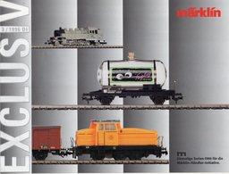 Catalogue Märklin Exclusiv 1996-3 Einmaligen Serien Spur HO - German