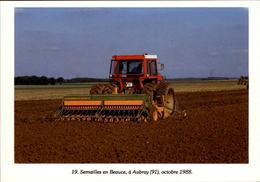 91 - AUBRAY - Semailles En Beauce - Tracteur - Agriculture - 1988 - France