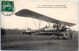 AVION - Aviateur - Le Sapeur Aviateur Brégi Sur Son Triplace Bréguet - Escadrille Aérienne Du Camp De Mailly - Aviateurs