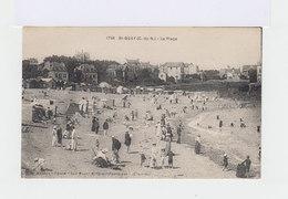 St Quay. La Plage. Baigneurs. Cabines De Plage. (3029) - Saint-Quay-Portrieux