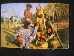 AP 4 - 302 - Amérique - Colombie - Uribia La Goajira - Tribu Goajira - Circulé 1967 - Colombie