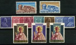 3271- Vaticano Nº 192/202 - Vaticano (Ciudad Del)