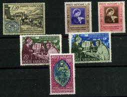 3270- Vaticano Nº 173/75, 189/91 - Unused Stamps