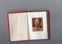 VORTOJ DE PREZIDENTO MAU ZEDONG -)  PETIT LIVRE ROUGE DE MAO TSETUNG écrit En ESPERANTO 1967  PEKIN - Andere