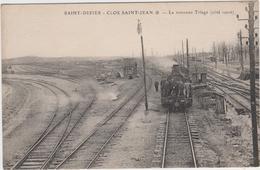 "1 Cpa Saint Dizier "" Gare Train "" - Saint Dizier"