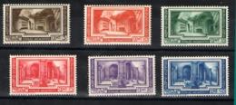 Vaticano Nº 80/85. Año 1938 - Vaticano (Ciudad Del)