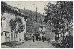 CPA 38 Isère L' Albenc Entrée Du Village Près De Vinay Saint Marcellin St Gervais  Varacieux Tullins Fures Voiron Rives - L'Albenc
