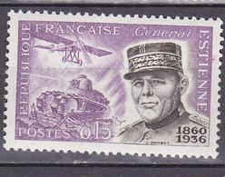 N°1270 Centenaire De La Naissance Du Général Estienne : Timbre Neuf Sans Charnière - France
