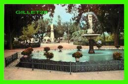 PERRÉGAUX, ALGÉRIE - UN COIN DU JARDIN PUBLIC - COMBIER IMP. MACON - CIM - - Autres Villes