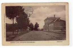 GEERTRUIDENBERG. GROET UIT GEERTRUIDENBERG.  STATION 1909 - Geertruidenberg