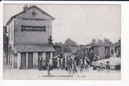 SAINT PHILBERT DE GRAND LIEU - LA GARE - TRAIN - 44 - Saint-Philbert-de-Grand-Lieu
