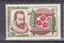 N°1286 4ème Centenaire De L'Introduction Du Tabac: Timbre Neuf Sans Charnière Impeccable - Nuevos