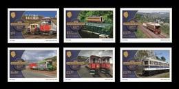 Isle Of Man 2018 Mih. 2398/403 Manx Electric Railway (incl. Europa-Cept. Bridges) MNH ** - Isla De Man