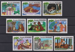 2265    WALT DISNEY - GRENADA  GRENADINES  ( Christmas 1981 )   Lady And The Tramp . - Disney