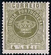India, 1882, # 116, MNG - Portuguese India