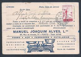Balança De Pratos Em Metal.Aviso De Viajante Circulado De Moimenta.Scale Of Metal Plates.Traveler's Note.Dish Skala.Rare - Portugal